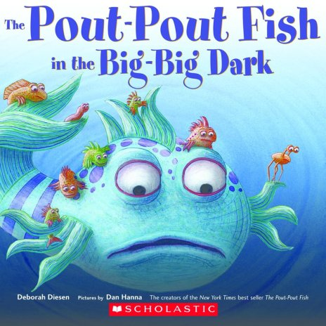 Day 7 blog challenge favorite children s book for The pout pout fish in the big big dark
